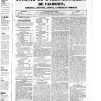 Le Journal de l'arrondissement de Valognes, numéro du 06 septembre 1850