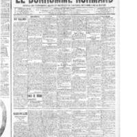 Le Bonhomme normand, numéro du 04 septembre 1914