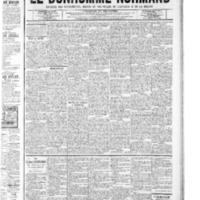 Le Bonhomme normand, numéro du 23 octobre 1908