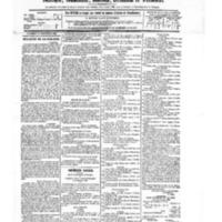Le Journal de l'arrondissement de Valognes, numéro du 15 septembre 1882