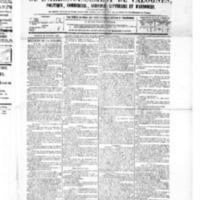 Le Journal de l'arrondissement de Valognes, numéro du 20 février 1885