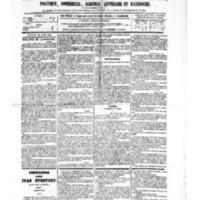 Le Journal de l'arrondissement de Valognes, numéro du 22 avril 1881