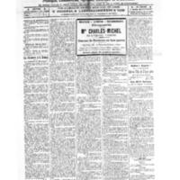 Le Journal de l'arrondissement de Valognes, numéro du 19 novembre 1921