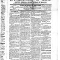 Le Journal de l'arrondissement de Valognes, numéro du 16 juillet 1886
