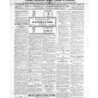 Le Journal de l'arrondissement de Valognes, numéro du 26 février 1921