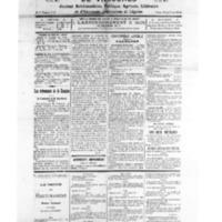 Le Journal de l'arrondissement de Valognes, numéro du 27 novembre 1926