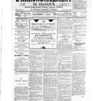 Le Journal de l'arrondissement de Valognes, numéro du 03 mars 1934