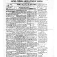 Le Journal de l'arrondissement de Valognes, numéro du 30 septembre 1881