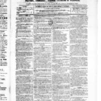 Le Journal de l'arrondissement de Valognes, numéro du 10 juillet 1885