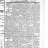 Le Journal de l'arrondissement de Valognes, numéro du 03 février 1905