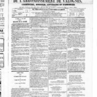 Le Journal de l'arrondissement de Valognes, numéro du 17 mai 1867