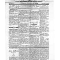 Le Journal de l'arrondissement de Valognes, numéro du 23 janvier 1926