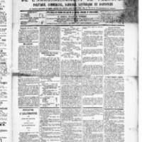 Le Journal de l'arrondissement de Valognes, numéro du 18 avril 1890