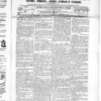 Le Journal de l'arrondissement de Valognes, numéro du 13 février 1885