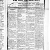 Le Journal de l'arrondissement de Valognes, numéro du 19 juin 1885