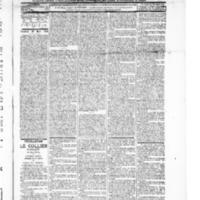 Le Journal de l'arrondissement de Valognes, numéro du 20 mars 1896