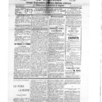 Le Journal de l'arrondissement de Valognes, numéro du 28 juillet 1928