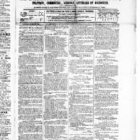 Le Journal de l'arrondissement de Valognes, numéro du 24 juillet 1885