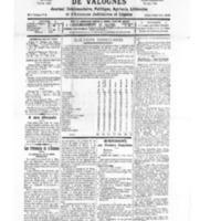 Le Journal de l'arrondissement de Valognes, numéro du 12 décembre 1931