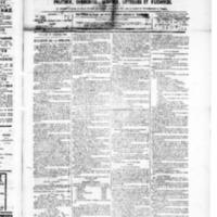 Le Journal de l'arrondissement de Valognes, numéro du 18 décembre 1885