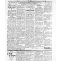 Le Journal de l'arrondissement de Valognes, numéro du 30 juillet 1909