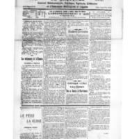 Le Journal de l'arrondissement de Valognes, numéro du 29 septembre 1928