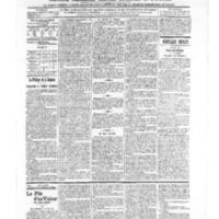 Le Journal de l'arrondissement de Valognes, numéro du 30 novembre 1906