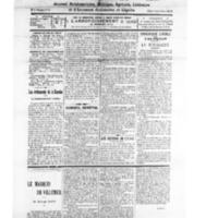 Le Journal de l'arrondissement de Valognes, numéro du 03 novembre 1928