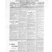 Le Journal de l'arrondissement de Valognes, numéro du 30 août 1930
