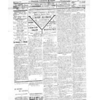 Le Journal de l'arrondissement de Valognes, numéro du 10 novembre 1934