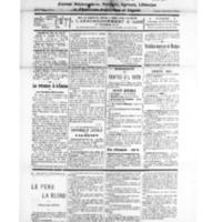 Le Journal de l'arrondissement de Valognes, numéro du 26 mai 1928