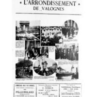 Le Journal de l'arrondissement de Valognes, supplément au numéro du 12 décembre 1931