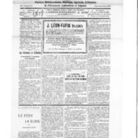 Le Journal de l'arrondissement de Valognes, numéro du 04 février 1928