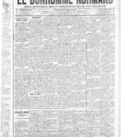 Le Bonhomme normand, numéro du 06 mars 1914