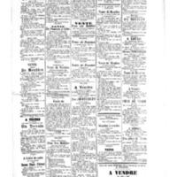 Le Journal de l'arrondissement de Valognes, supplément au numéro du 15 septembre 1882