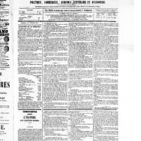 Le Journal de l'arrondissement de Valognes, numéro du 12 février 1875