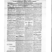 Le Journal de l'arrondissement de Valognes, numéro du 18 février 1928