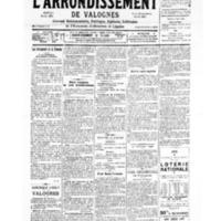 Le Journal de l'arrondissement de Valognes, numéro du 23 décembre 1939