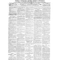 Le Journal de l'arrondissement de Valognes, numéro du 09 avril 1921