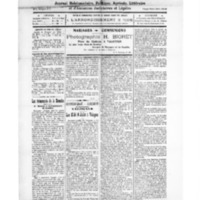 Le Journal de l'arrondissement de Valognes, numéro du 19 juillet 1924