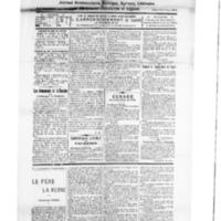 Le Journal de l'arrondissement de Valognes, numéro du 04 août 1928