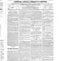 Le Journal de l'arrondissement de Valognes, numéro du 17 mars 1865
