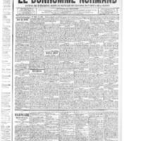 Le Bonhomme normand, numéro du 24 juillet 1914