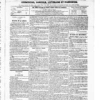 Le Journal de l'arrondissement de Valognes, numéro du 18 octobre 1867