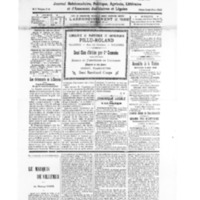 Le Journal de l'arrondissement de Valognes, numéro du 31 mai 1930