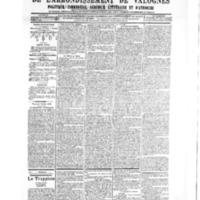 Le Journal de l'arrondissement de Valognes, numéro du 07 juillet 1905