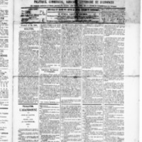 Le Journal de l'arrondissement de Valognes, numéro du 16 mai 1890