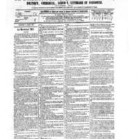 Le Journal de l'arrondissement de Valognes, numéro du 14 mars 1879