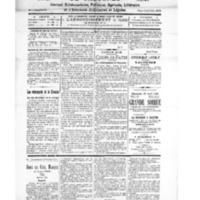 Le Journal de l'arrondissement de Valognes, numéro du 24 avril 1926
