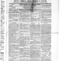 Le Journal de l'arrondissement de Valognes, numéro du 05 novembre 1886